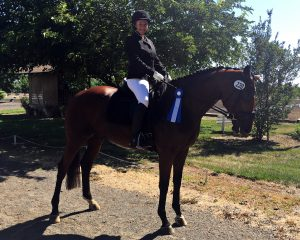 Brenda and Belle June Dressage Derby